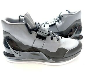 Acostado liberal mini  Nike Air Force Max Basketball Grey/Black/White AR0974 006 sz 10.5 | eBay