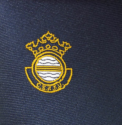 CSRFU tie Civil Service Rugby Football Union navy blue tie Crown SPORTS CLUB