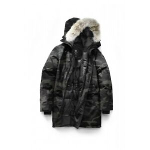 Image is loading CANADA-GOOSE-Langford-Parka-BLACK-LABEL-Classic-Camo-