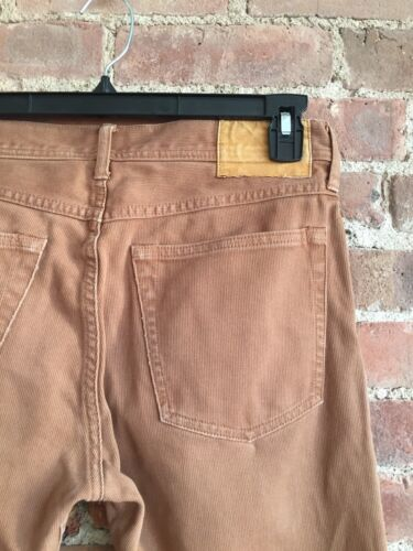 Wallace & Barnes Mens Pants, Corduroy Light Brown