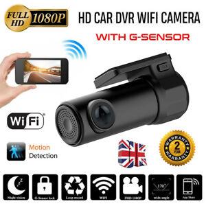 HD cámara de tablero de auto DVR Video Cámara Grabadora Visión Nocturna G-Sensor Reino Unido