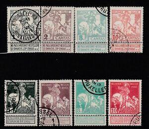 FRANCOBOLLI-1910-BELGIO-CARITAS-Z-9592