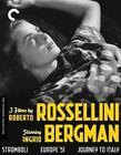 3 Films by Roberto Rossellini Starrin 0715515108010 With Ingrid Bergman Blu-ray