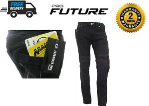 Motorbike-Motorcycle-Jeans-Trousers-Lined-With-KEVLAR-Armoured-Protective-Biker