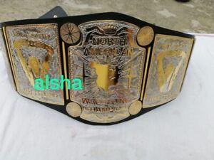New North American wrestling championship belt Adult Thick Zinc Plates 4mm