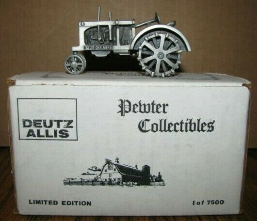 Allis Chalmers WC Tractor Spec Cast 1 43 Pewter Toy DAC6 LIMITED ED 1 7500 Deutz