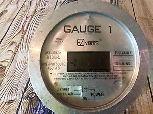 Vaetrix Gauge 1 Digital Pressure Gauge 2,000 PSI RD