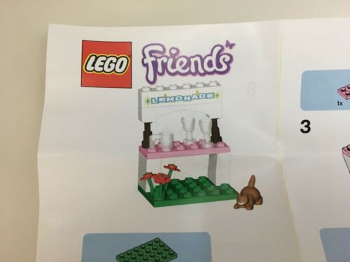 Lego Friends Toys R Us Promo Lemonade Stand /& Friends 2 pc Brick Pack Promo Set