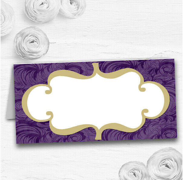 lilas Vintage Classical Wedding Table Seating Name Place Cards