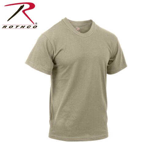 Rothco 9580 Moisture Wicking T-Shirts Desert Sand