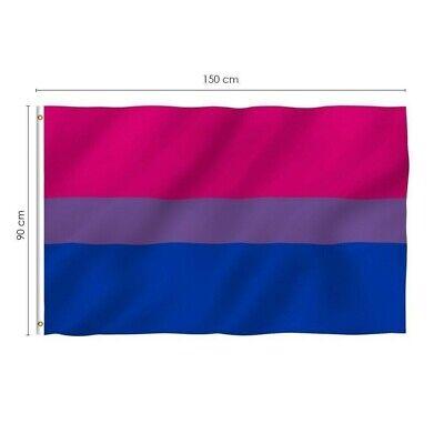 150*90 CM Polyester Rainbow Flag Gay Pride Peace LGBT Polyester Flag 5*3 FT