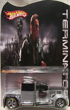 Hot Wheels CUSTOM CONVOY - The Terminator Real Riders Limited 1/25 Made!