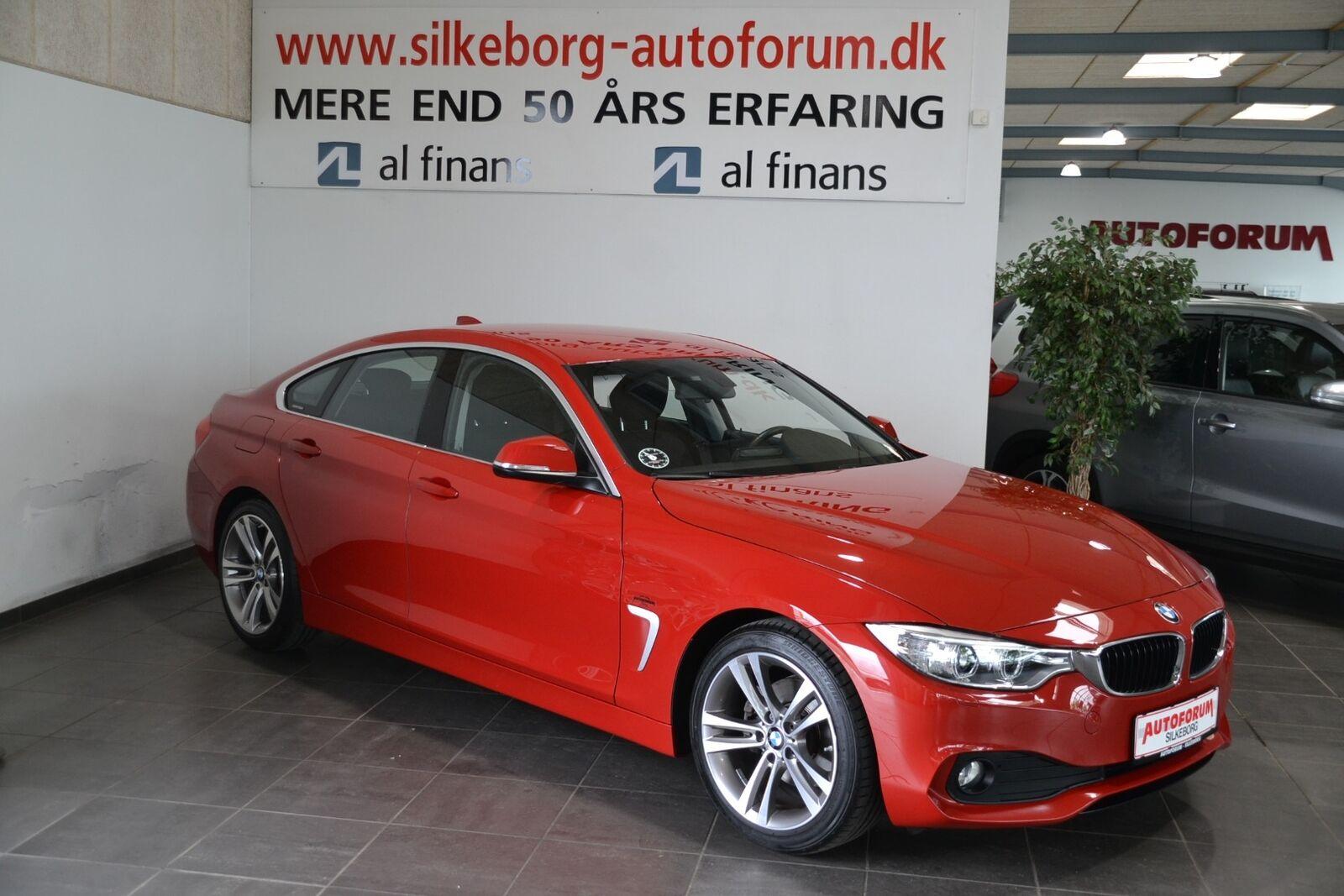BMW 420d 2,0 Gran Coupé aut. 5d - 319.900 kr.