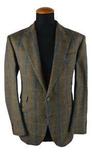 Atelier-Torino-Sakko-Tweed-Gr-25-50-100-Schurwolle-Mehrfarbigt-Kariert-D4