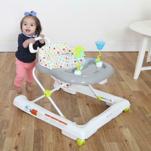 NEW Baby Trend 3.0 Foldable Activity Walker Sprinkles