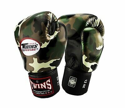 Twins Special FBGV-9 Sporting MMA Martial Arts Muay Thai Boxing Gloves Training
