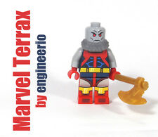 LEGO Custom - Terrax - Marvel Super heroes mini figure ironman thor incredible