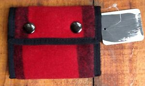 Urban-Outfitters-Spurling-Lakes-Red-Buffalo-Plaid-Buttons-Trifold-Wallet-NWT-P-6