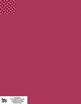 Decals 1//24 Carbone Petite Planche format 1//2 A4 FFSMC Productions