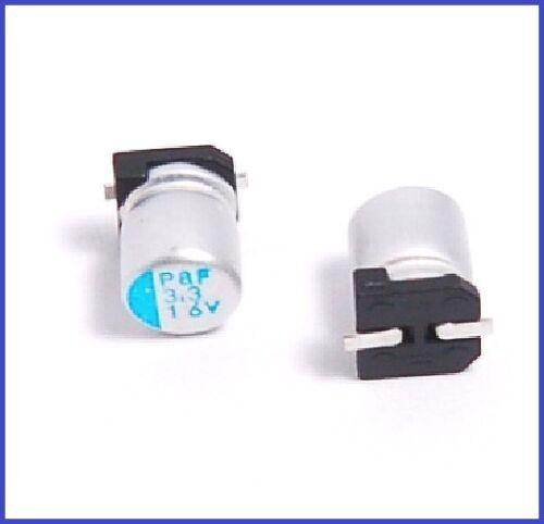 3.3UF 16V NCC SMD ALUMINUM ELECTROLYTIC CAPACITORS 4X5.5MM.PS 10PCS