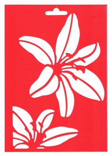 1 Schablone Motive Mixed A5 für Wand Fenster Textil Easy Stencil HEIKE SCHÄFER