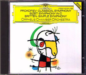 Orpheus-Chamber-Orchestra-Prokofiev-famille-Bizet-Simple-Symphony-Classique-CD