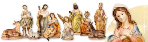Xmas Traditional Nativity Set Christmas Ornament 11 Figures Christmas Decoration