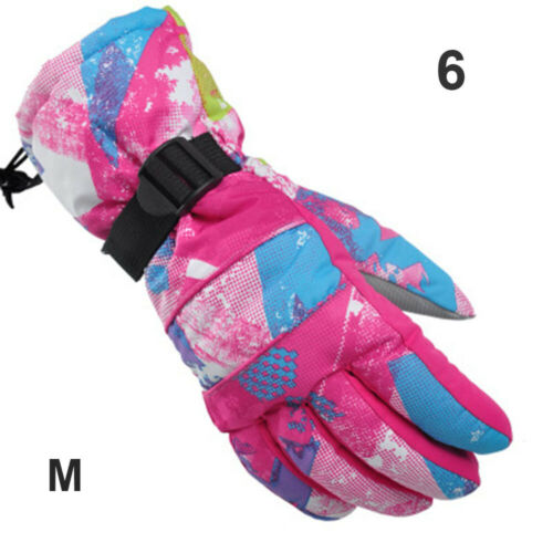 Windproof  Finger Adult Skiing Cycling Riding Snow Mittens  Winter Ski Gloves