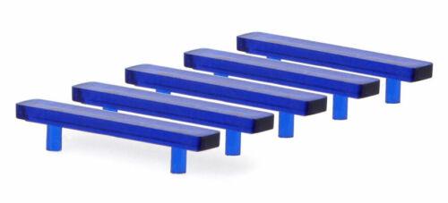 Clear Blue Orange 1:76 1:87 Scale Model Code 3 Light Bars//Beacons