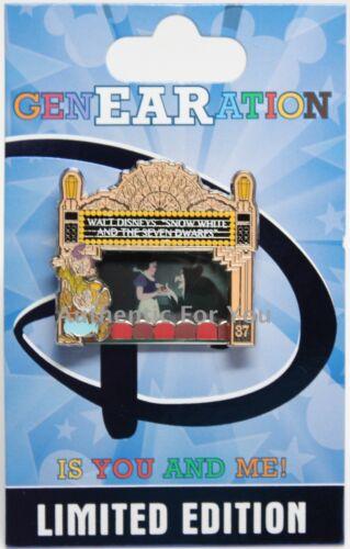 NEW Disney 2015 GenEARation D Event Snow White Film Premiere Carthay Pin #6