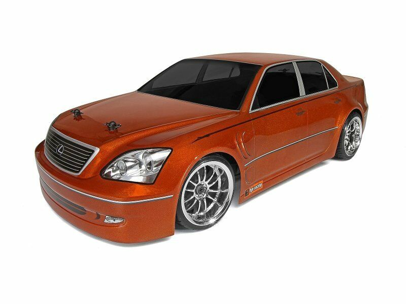 Custom Painted Body LEXUS LS430 for 1/10 RC Drift Cars Touring HPI 200mm