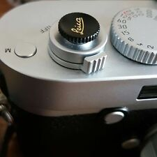 Camera Shutter Release Button Black for Leica M ME M3 MP M8 M9 Fuji X100 Nikon