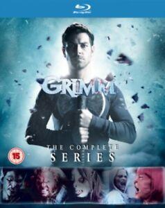 Nuovo Grimm Stagioni 1 A 6 Collezione Completa Blu-Ray