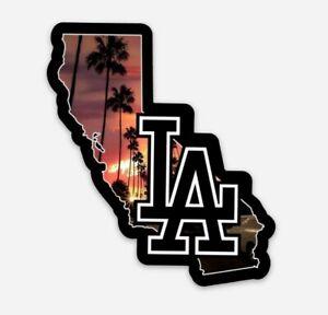 Los Angeles Dodgers STICKER - MLB Baseball LA California Mookie Betts ERA