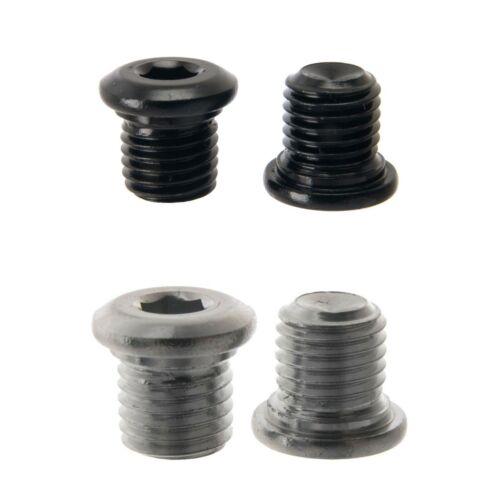 V brake//Cantilever Patron d/'Obturation Boulons//bouchons-noir ou argent-M10 M8 Ou