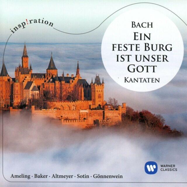 EIN' FESTE BURG IST UNSER GOTT-BACH KANTATEN - BACH,JOAHANN SEBASTIAN/+ CD NEW!