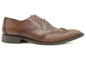 Banana Republic Brown Leather Wingtip Lace Up Dress Oxfords Shoes Men's 11.5 M