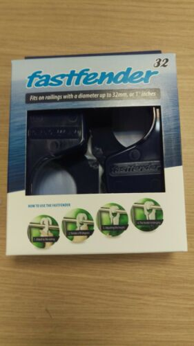 Fastfender 32 Fender Clip Fit 32mm Rails Fast Fender Removable Hook Blue FF32BE
