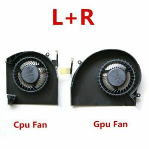 NEW-CPU-Fan-GPU-Fan-Cooling-Cooler-For-Dell-Alienware-17-R4-17-R5-P31E-L-R-DC5V