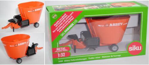 Siku Farmer 2450 00701 Abbey vf1250fd mangime misto carrello modello speciale Irlanda 1:32