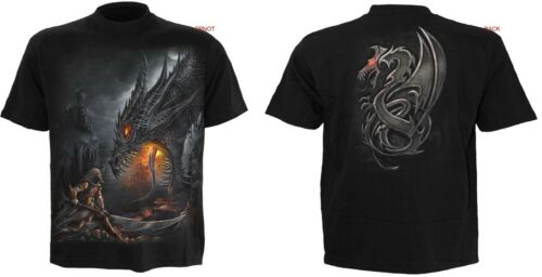 Spiral Direct Dragon//goth//rock//biker//METAL//Faucheuse//Tête de mort//3XL//4XL//5X//Grande Taille//Top
