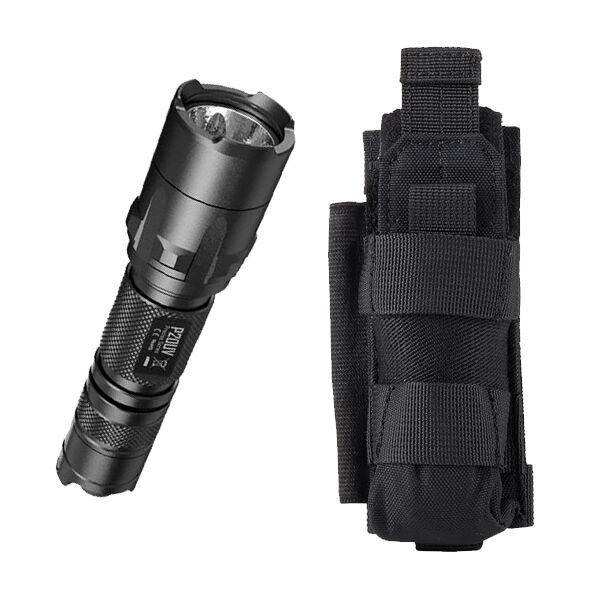 Nitecore P20UV LED Flashlight 800Lm w/ NCP30 Holster