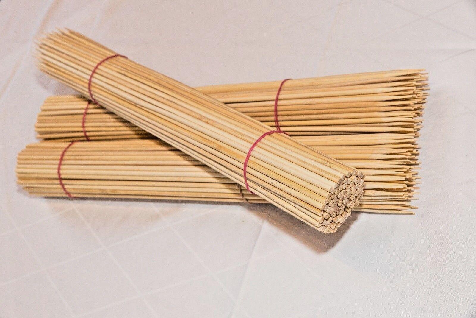 45 cm Bambusspieß Bambus Bambus Bambus Spieße Kartoffelspirale Holz Grill Schaschlik  Ø 5 mm | Neuer Eintrag  10eaea