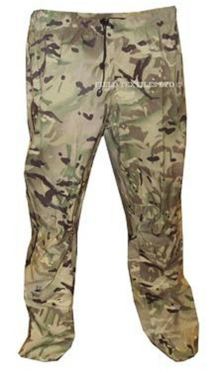 MTP LIGHTWEIGHT GORETEX TROUSERS - SIZE LARGE - BRITISH ARMY
