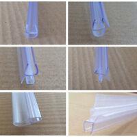 Bath Shower Screen Door Seal Strip| Glass Thickness 4 - 6mm | Gap 7- 23mm
