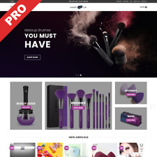 Beauty Makeup Store Turnkey Dropshipping Website Ecommerce Business For Sale