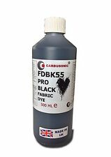 Liquid Fabric Dye Black, Clothes, Denim, Handbags,Spray, Dip,  Batik 500 ml