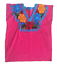 Floral-Mexican-Blouse-Embroidered-Made-in-Mexico-Handmade-Cotton-Pink thumbnail 8