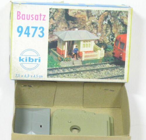H0 wärterhaus Bloc place KIBRI 9473 Kit Produit neuf NEUF dans sa boîte