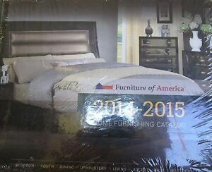 Furniture of america home furnishings catalog 2014 2015 new hardcover ebay Home furniture usa nj